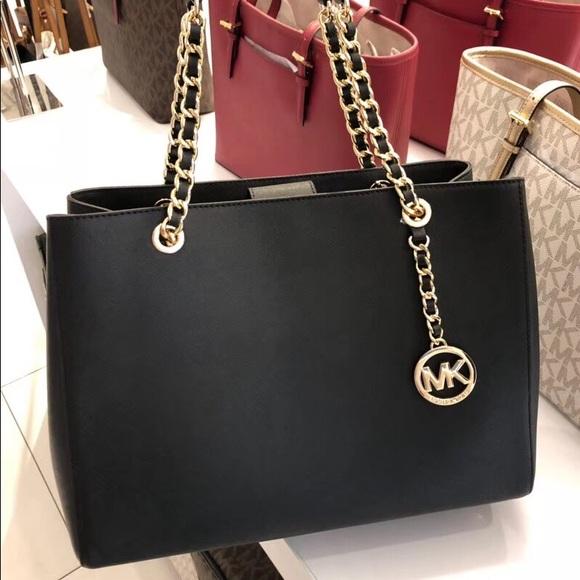 e27c22f0faf2 MICHAEL Michael Kors Bags | Michael Kors Saffiano Leather Susannah ...